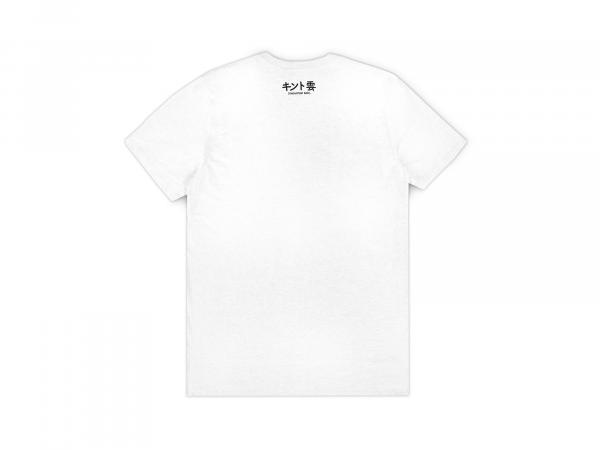 JINDUJUN REC. CLASSIC LOGO T-SHIRT WHITE BACK