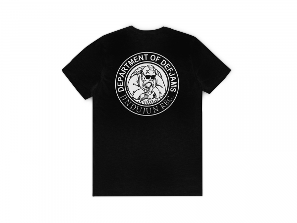 DEPARTMENT OF DEF JAMS LOGO T-SHIRT BLACK BACK