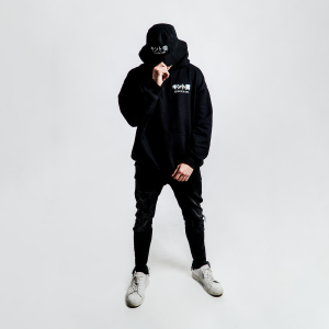 DEPARTMENT OF DEF JAMS LOGO HOODIE BLACK